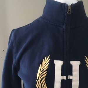 Tommy Hilfiger 100% Cotton Zip in Navy!